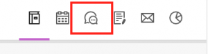 Discussion tab icon