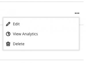 Edit discussion settings menu